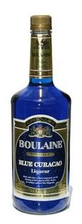 Boulaine Liqueur Blue Curacao 1.00l - Case of 12